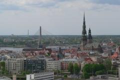 Blick auf Riga
