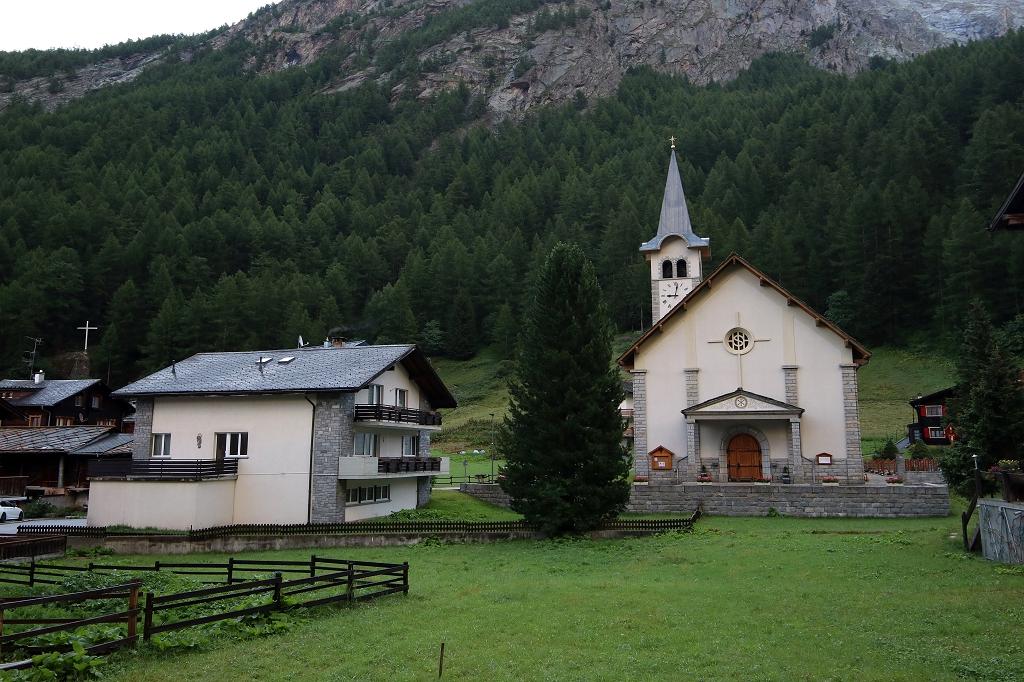 Kirche in Saas-Almagell