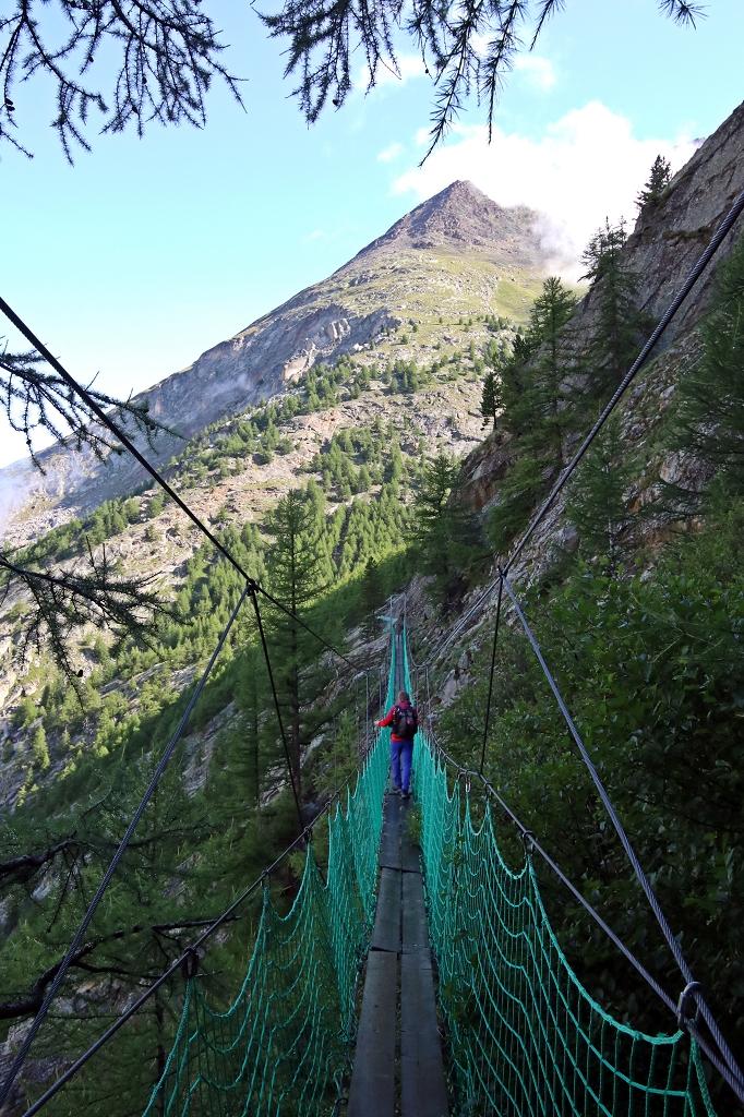 Almageller Erlebnisweg - Hängebrücke Nummer 1