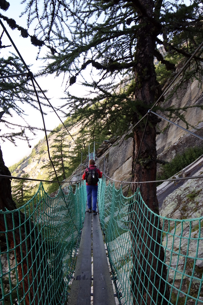 Almageller Erlebnisweg - Hängebrücke Nummer 2