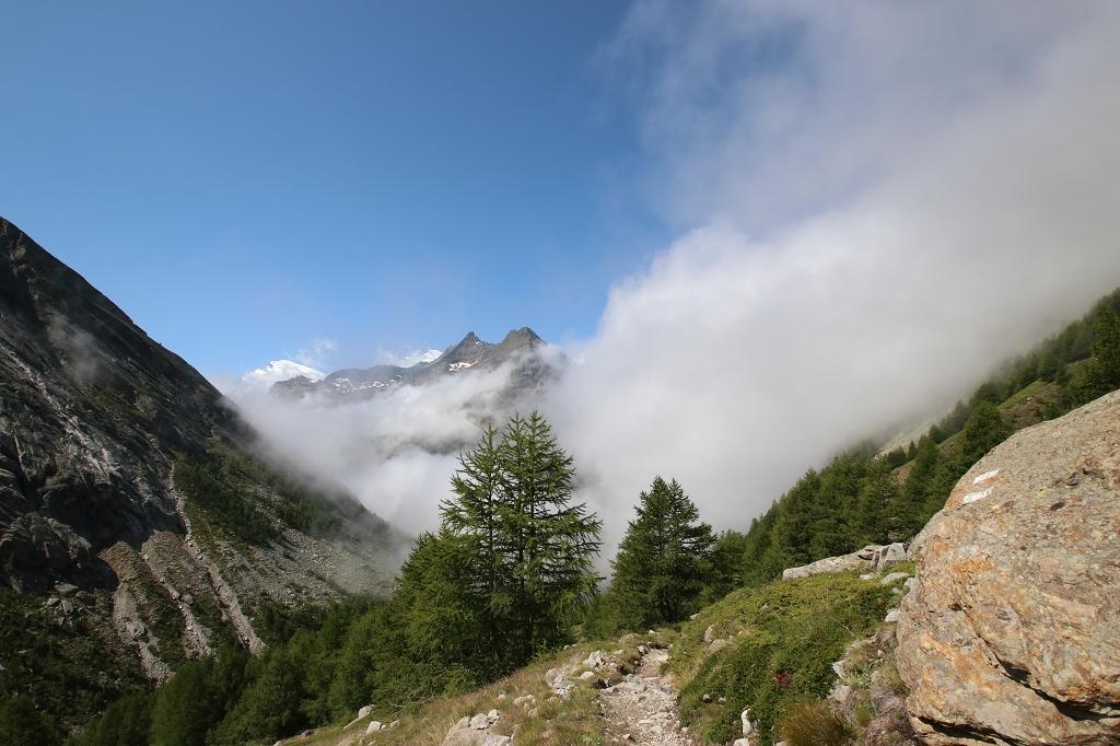 Auf dem Almageller Höhenweg - Von der Almagelleralp nach Kreuzboden