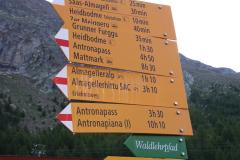 Weg zum Almageller Erlebnisweg