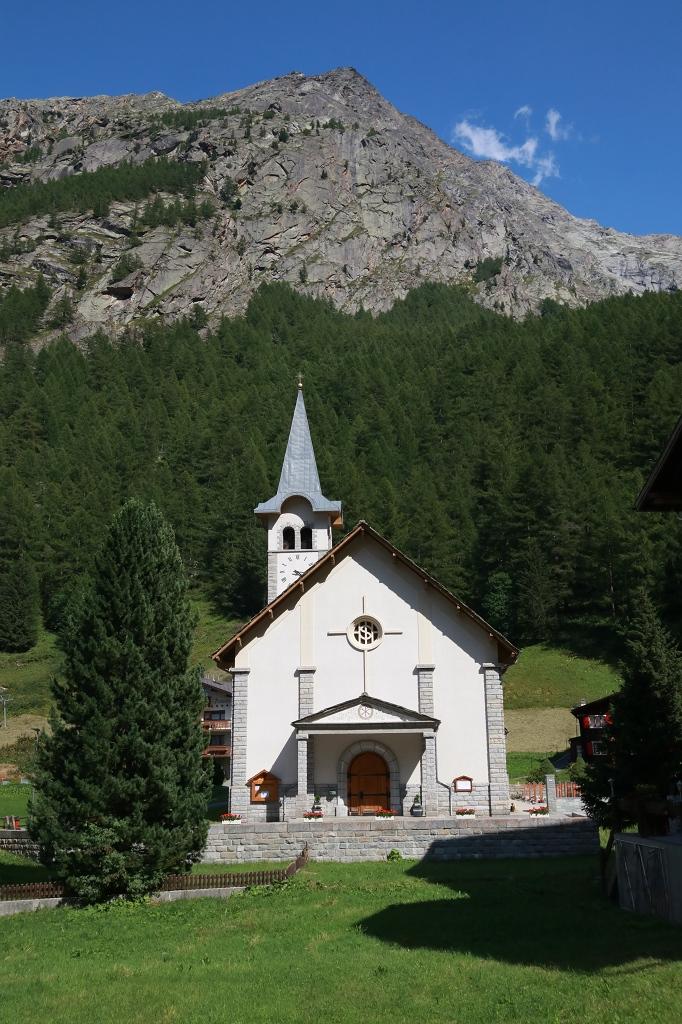 Kirche in Saas Almagell
