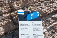 Start der hochalpinen Tour auf das Almagellerhorn