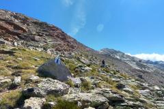 Aufstieg zum Almagellerhorn