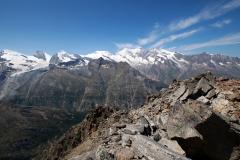 Ausblick auf einer Höhe von ca. 2.900 Metern