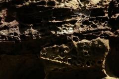 Sandstein Wabenstruktur