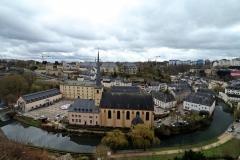 Blick auf die Altstadt und St Jean du Grund