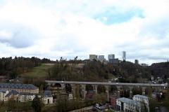 Blick von Burg Lucilinburhuc
