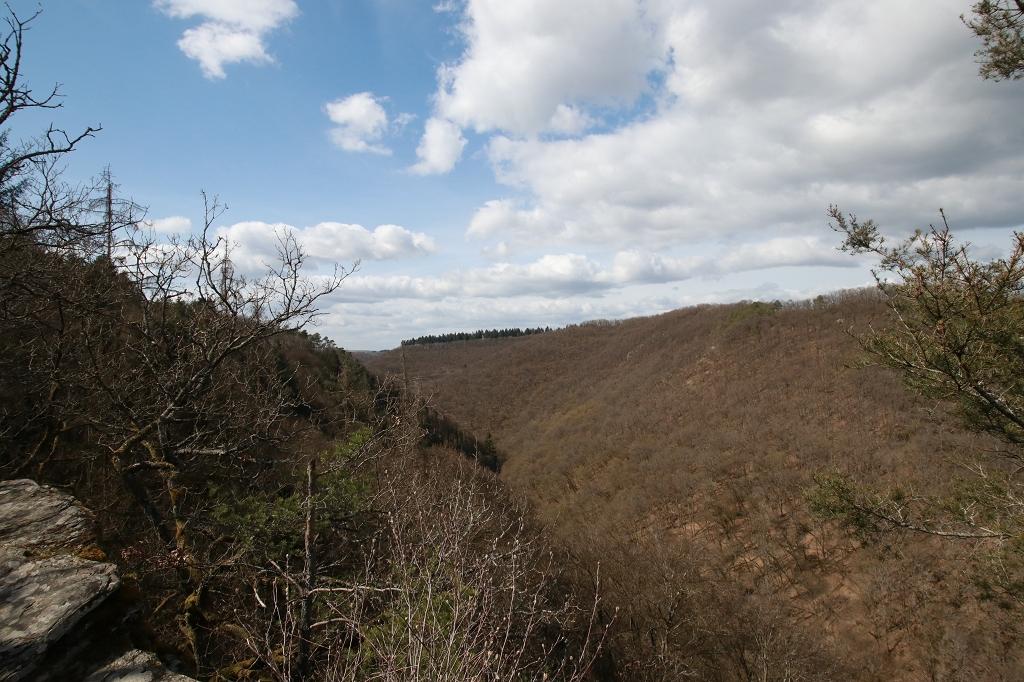 Traumschleife Baybachklamm - Blick vom Aussichtspunkt Barreterlei