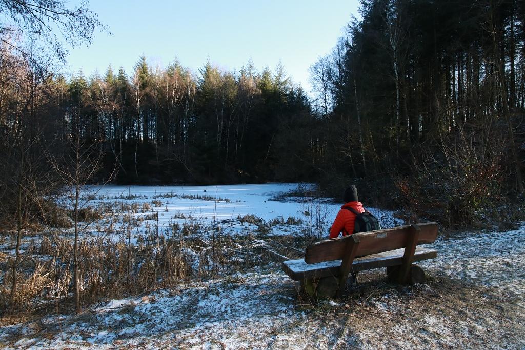 Bensberger Schlosswegs (Streizug Nummer 13) - Jungfrauenweiher