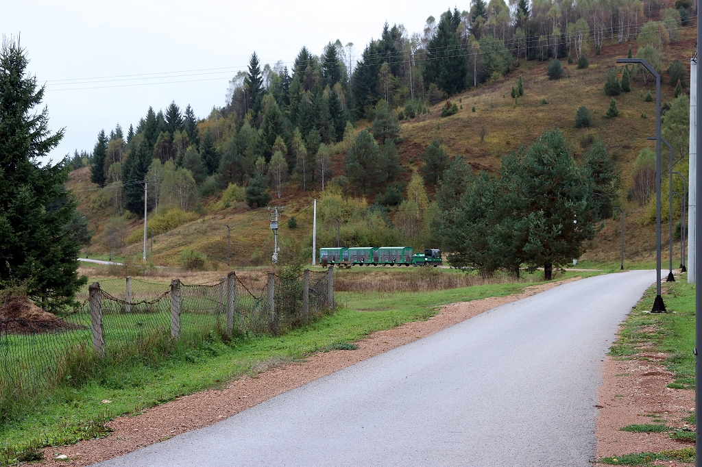 Der Zug kommt