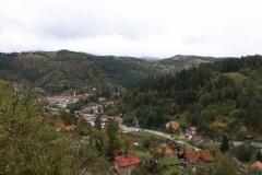 Blick auf die Landschaft in Bosnien und Herzegowina