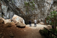 Eingang zur Srednja Bijambarska Höhle
