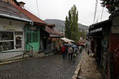 Durch die Straßen Sarajevos