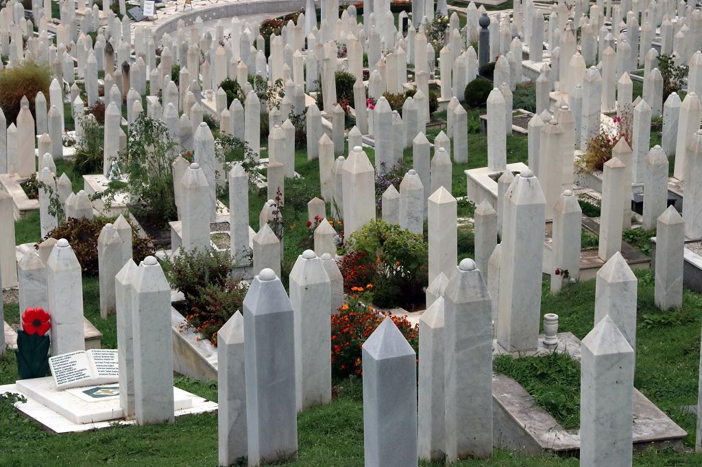 Friedhof in Sarajevo