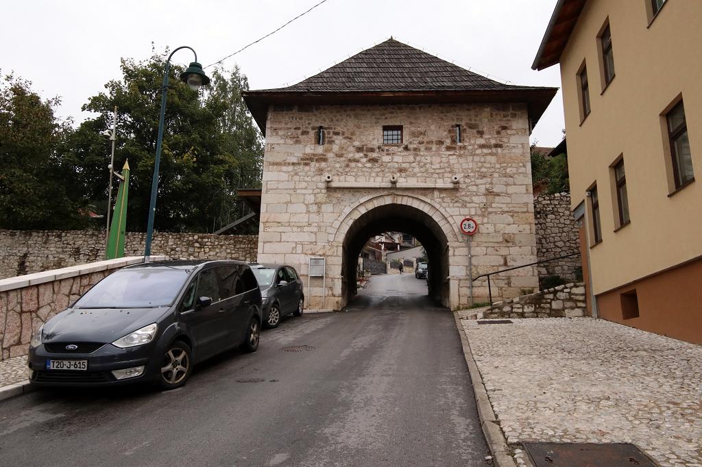 Altes Stadttor auf dem Weg zur Gelben Festung
