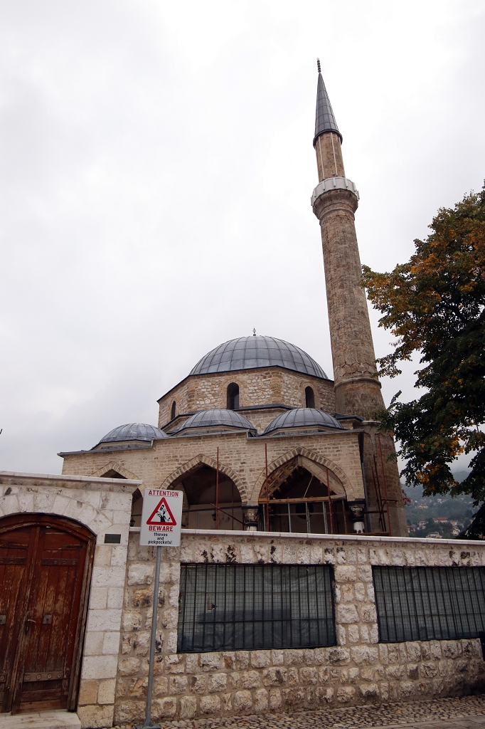 Baščaršija Moschee in Sarajevo