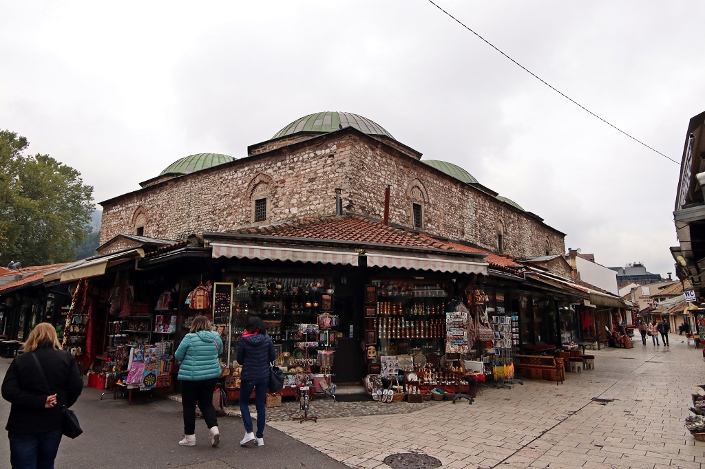 Auf dem Weg zur Gazi-Husrev-Beg-Moschee
