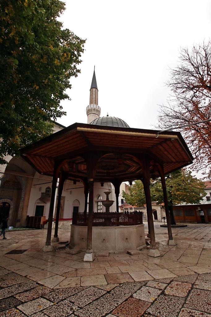Brunnen Gazi-Husrev-Beg-Moschee