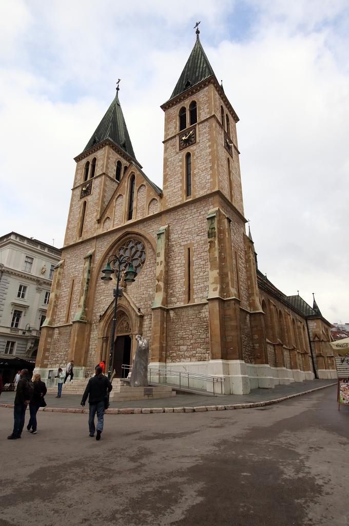 Herz-Jesu-Kathedrale in Sarajevo