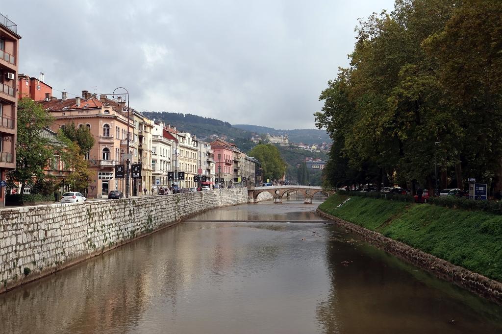 Lateinerbrücke in Sarajevo