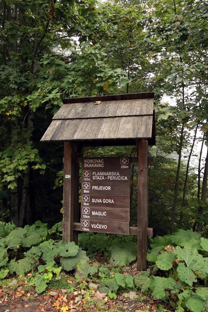 Am Parkplatz Dragos Sedlo des Sutjeska-Nationalparks