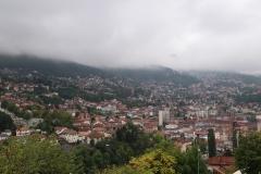 Blick auf Sarajevo von der Gelben Festung