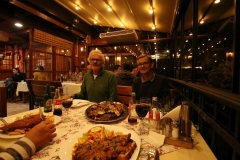 Abendessen im Hindin Han