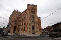Historisches Rathaus in Sarajevo