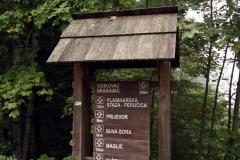Am Parkplatz des Sutjeska-Nationalparks