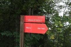 Parkplatz Dragos Sedlo im Sutjeska-Nationalpark