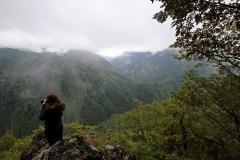Blick auf den Perućica Urwald vom Vidikovac Beškita im Sutjeska-Nationalpark