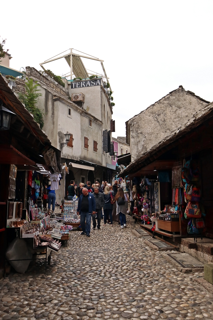Touristenbasar in Mostar