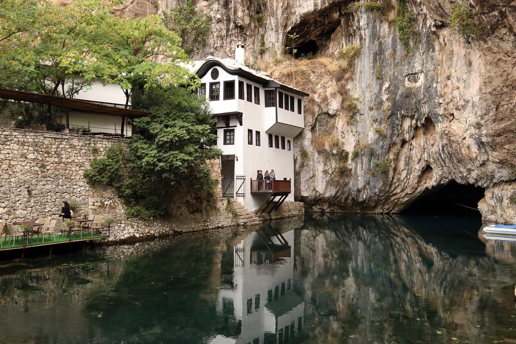 Derwischkloster an der Bunaquelle (Vrelo buna)