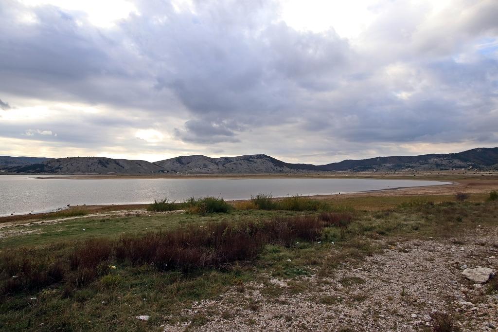 Am Ufer des Blidinjsko jezero