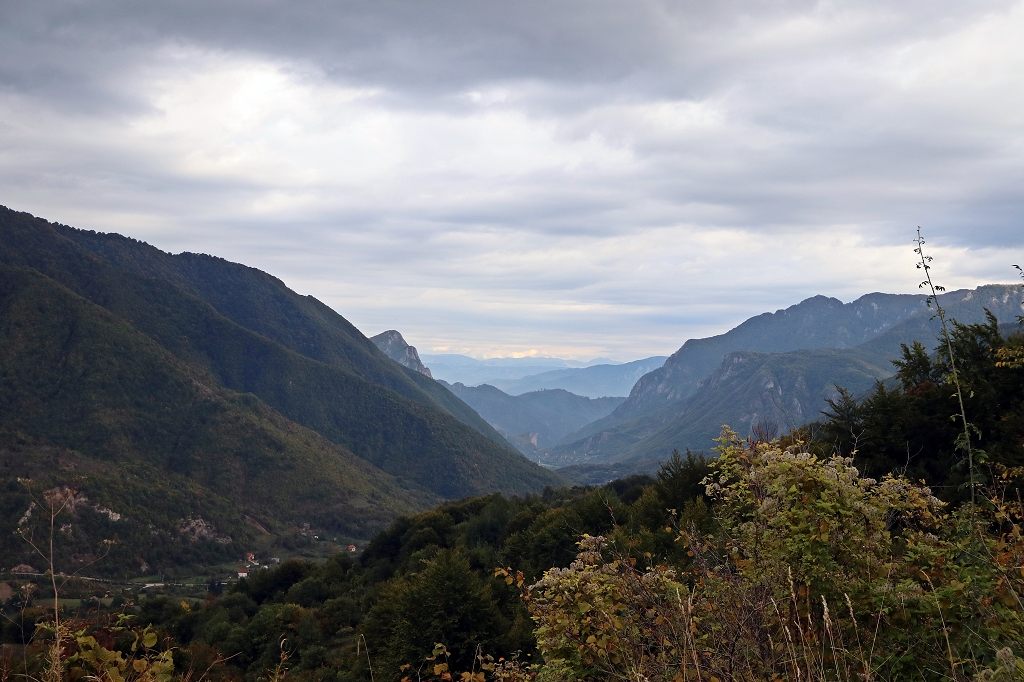 Landschaftsausblick in Bosnien und Herzegowina
