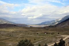 Blidinjsko jezero aus der Ferne