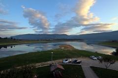 Ausblick vom Balkon des Mediterran B&B am Ramsko jezero