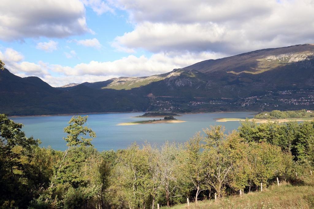 Ramsko jezero und die Halbinsel Šćit