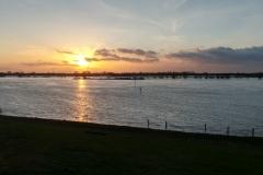 Der Rhein in Dinslaken