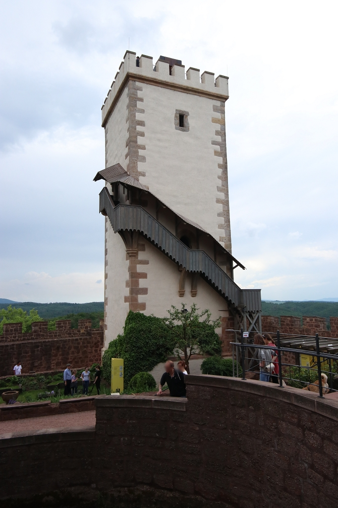 Wanderung durch die Drachenschlucht, Landgrafenschlucht und zur Wartburg - Südturm