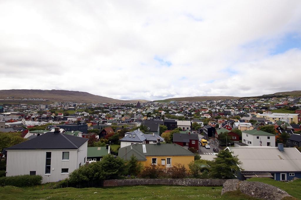 Blick auf Tórshavn