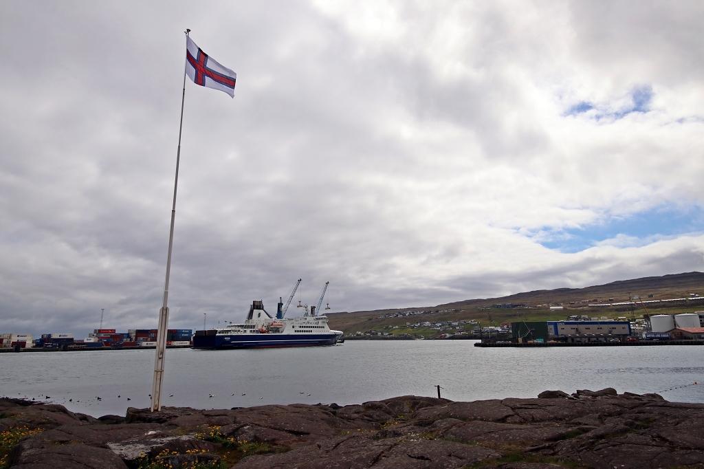 Auf der Halbinsel Tinganes in Tórshavn
