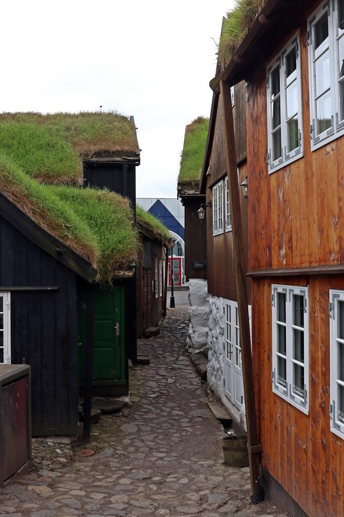 Durch die Straßen von Tórshavn