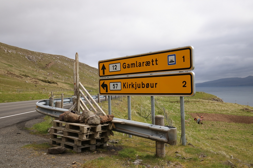 Fahrt nach Kirkjubøur