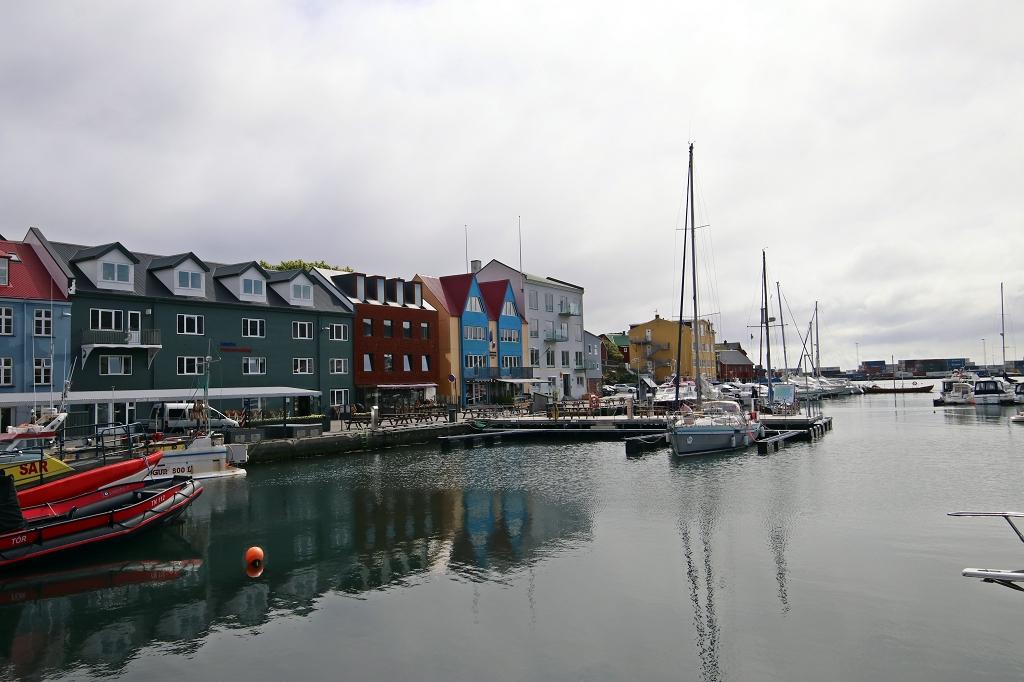 Hafen von Tórshavn