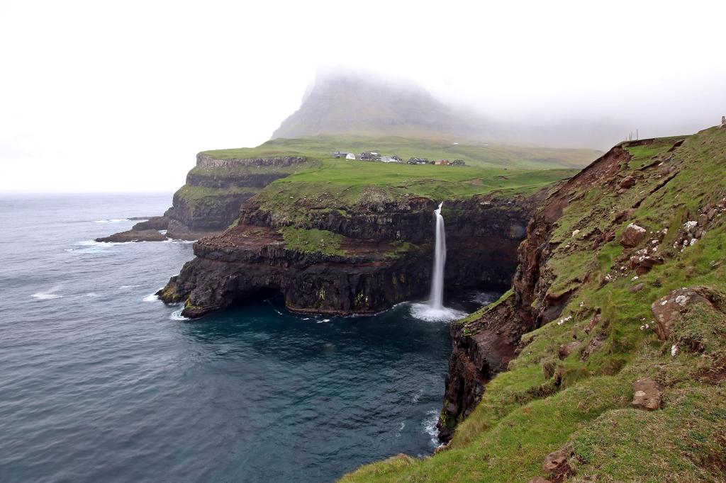 Mulafossur in Gásadalur auf den Färöer