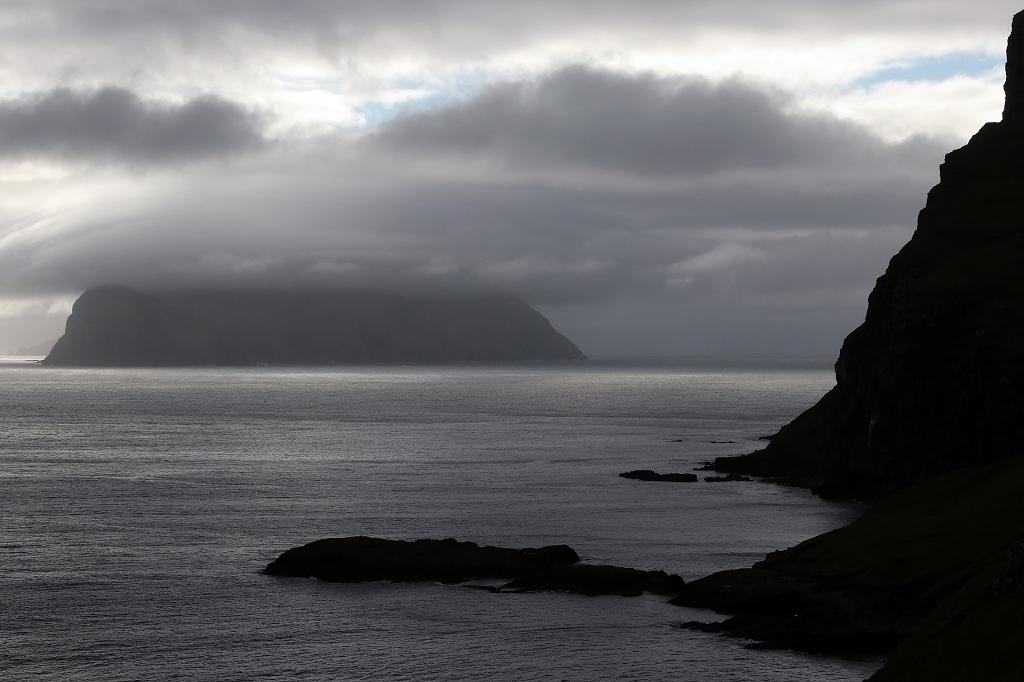 Abendstimmung am Sørvágsfjørður