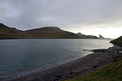 Strand am Sørvágsfjørður